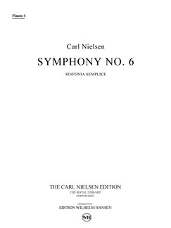 Carl Nielsen: Symphony No.6 'Sinfonia Semplice' (Parts) Books | Orchestra