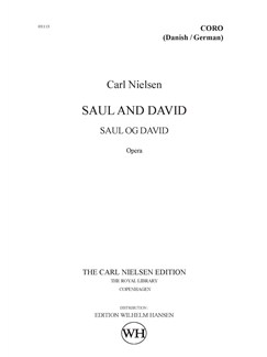 Carl Nielsen: Saul Og David - Danish/German Version (Choral Score) Books | Opera, SATB, Choral