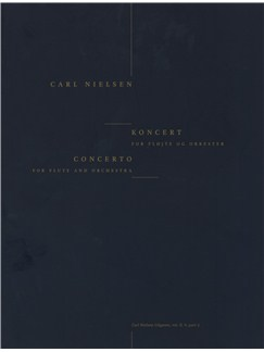 Carl Nielsen: Concerto For Flute And Orchestra (Score) Books | Flute, Orchestra