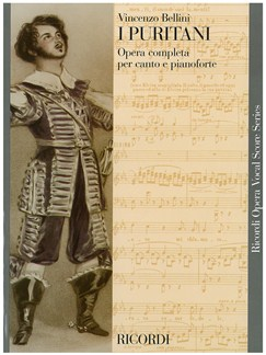Vincenzo Bellini: I Puritani - Opera Vocal Score Books | Opera Vocal Score