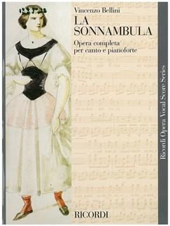 Vincenzo Bellini: La Sonnambula - Opera Vocal Score Books | Opera