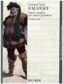 Giuseppe Verdi: Falstaff - Opera Vocal Score Books   Opera