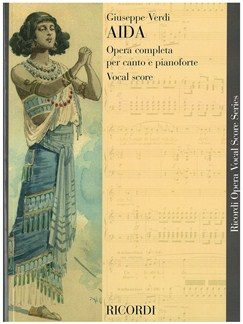 Giuseppe Verdi: Aida - Opera Vocal Score Books   Opera