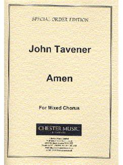 John Tavener: Amen (Score) Books | Soprano, Alto, Tenor, Bass