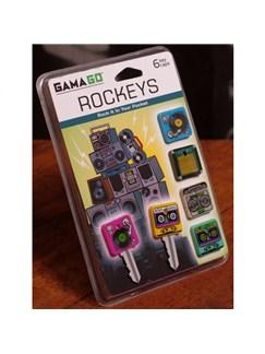 Rockeys: Pack Of Six Key Caps  |
