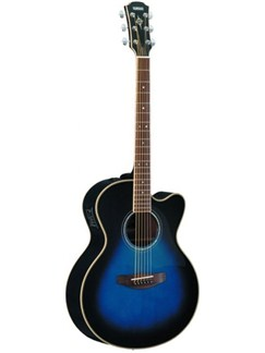 Yamaha: CPX500II Electro-Acoustic Guitar (Blue) Instruments | Electro-Acoustic Guitar