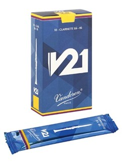 Vandoren: V21 Clarinet Reeds Strength 3.5 - Box Of 10  | Clarinet
