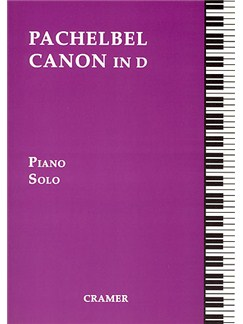 Johann Pachelbel: Canon In D (Piano Solo) Books | Piano