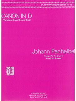 Johann Pachelbel: Canon  -  Organ Solo Books | Organ