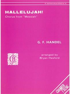 G.F. Handel: Hallelujah (Solo Organ) Books | Organ