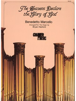 Benedetto Marcello: The Heavens Declare The Glory Of God Books | Organ