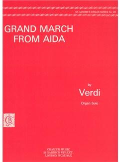 Verdi:  Grand March From Aida Org. St.M.28 Books | Organ