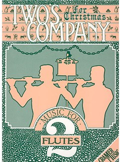 Two's Company For Christmas - 2 Flutes Books | Flute (Duet)