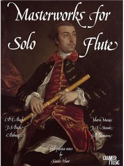 Masterworks For Solo Flute Books | Flute