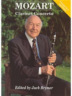 W.A. Mozart: Clarinet Concerto In A K.622 (Clarinet In A/Piano) Books | Clarinet, Piano Accompaniment