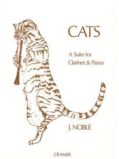 John Noble: Cats Books | Clarinet, Piano Accompaniment