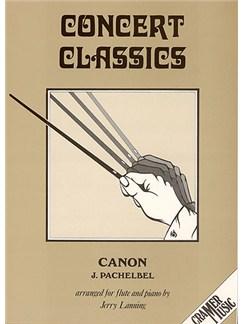 Johann Pachelbel: Canon (Flute) Books   Flute, Piano Accompaniment