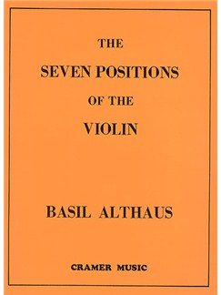 Basil Althaus: The Seven Positions Of The Violin - Revised Edition Books | Violin