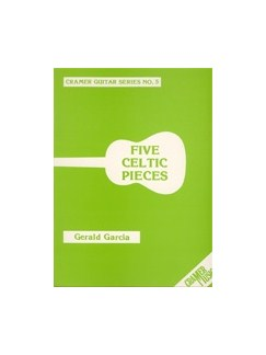 Garcia:  Five Celtic Pieces Gtr Books | Guitar