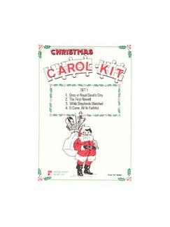 Various Christmas Carol Kit-set 1  Mk(X1) Books |