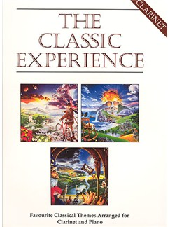 The Classic Experience For Clarinet Books | Clarinet, Piano Accompaniment