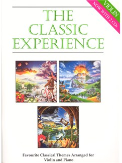 The Classic Experience - Violin (Book/CDs) Books and CDs | Violin, Piano Accompaniment