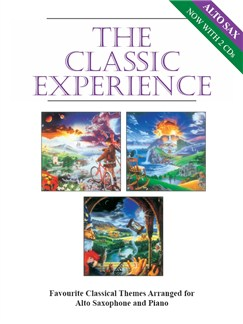 The Classic Experience (Alto Saxophone) Books | Alto Saxophone, Piano Accompaniment
