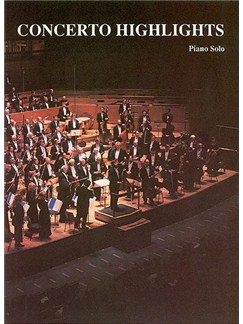 Concerto Highlights  -  Piano Solo Books | Piano
