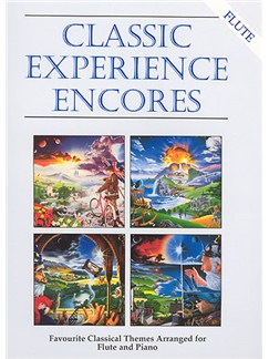 Classic Experience Encores (Flute) Books | Flute, Piano Accompaniment