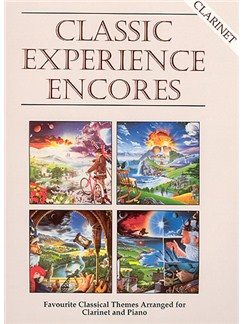 Classic Experience Encores (Clarinet) Books | Clarinet, Piano Accompaniment