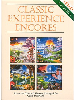 Classic Experience Encores (Cello) Books and CDs | Cello, Piano Accompaniment