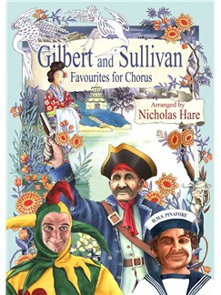 Gilbert And Sullivan: Favourites For Chorus Books | Voice