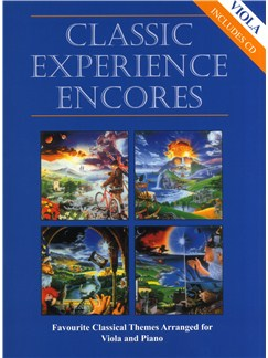Classic Experience Encores - Viola Books and CDs | Viola, Piano Accompaniment
