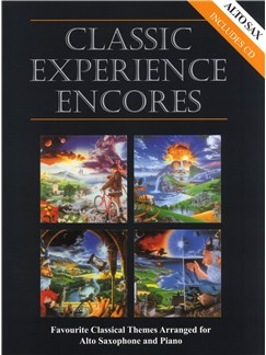 Classic Experience Encores - Alto Saxophone Books and CDs | Alto Saxophone, Piano Accompaniment