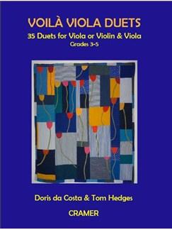 Doris Da Costa/Tom Hedges: Voilà Viola Duets - 35 Duets For 2 Violas Or Violin & Viola Books | Viola (Duet)