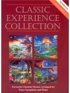 Classic Experience Collection - Tenor Saxophone Books and CDs | Tenor Saxophone, Piano Accompaniment