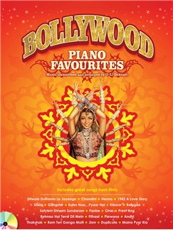 Bollywood Piano Favourites Books and CDs | Piano