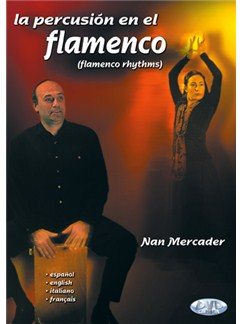 Mercader Percusion Flamenco Perc Dvd DVDs / Videos | Guitar