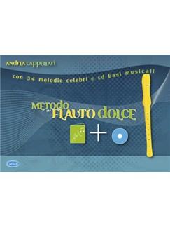 Metodo Per Flauto Dolce Bk/Cd/Rec Books | Recorder