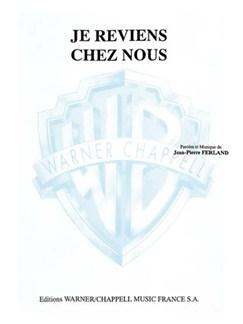 Jean-Pierre Ferland: Je Reviens Chez Nous Books | Piano & Vocal