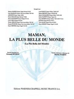 Luis Mariano: Maman, La Plus Belle Du Monde (La Più Bella Del Mondo) Books | Piano & Vocal