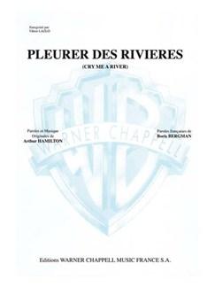 Viktor Lazlo: Pleurer Des Rivières (Cry Me a River) Books | Piano et Chant