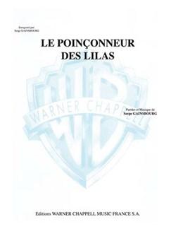 Serge Gainsbourg: Le Poinçonneur des Lilas Books | Piano & Vocal