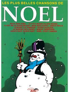 Noël: Les Plus Belles Chansons Libro | Piano, Voz y Guitarra