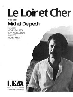 Michel Delpech: Le Loir Et Cher Livre | Voix, Accompagnement Piano