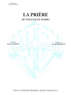 Brassens La Priere Vce/Pf Books | Piano