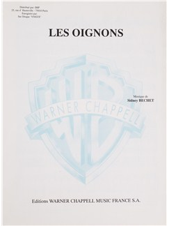 Sidney Bechet: Les Oignons Books | Voice, Piano Accompaniment