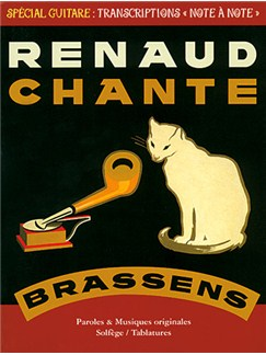 Renaud: Chante Brassens Livre | Tablature Guitare