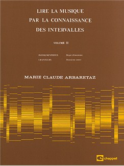 Lire la Musique par La Connaissance des Intervalles Volume 2 Books | All Instruments