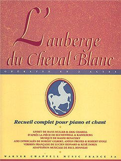 L'Auberge du Cheval Blanc Books | Piano, Vocal & Guitar